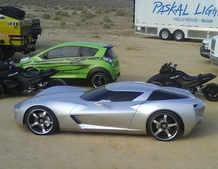 Transformers Cars On Best Shot Yet Of The 2 Mystery Vette