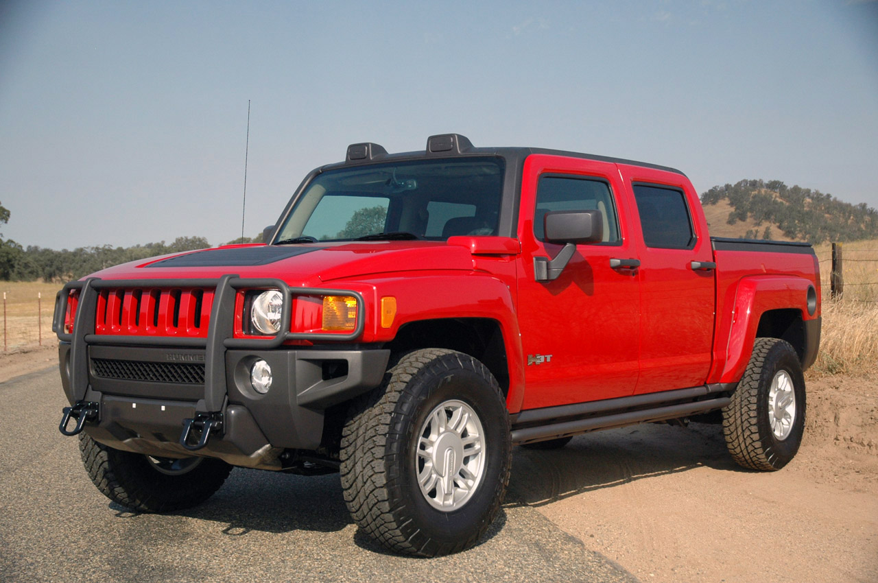 first drive hummer h3t photo gallery autoblog. Black Bedroom Furniture Sets. Home Design Ideas