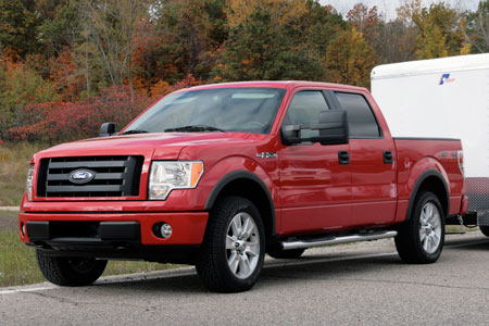 first drive 2009 ford f 150 capability matters autoblog. Black Bedroom Furniture Sets. Home Design Ideas