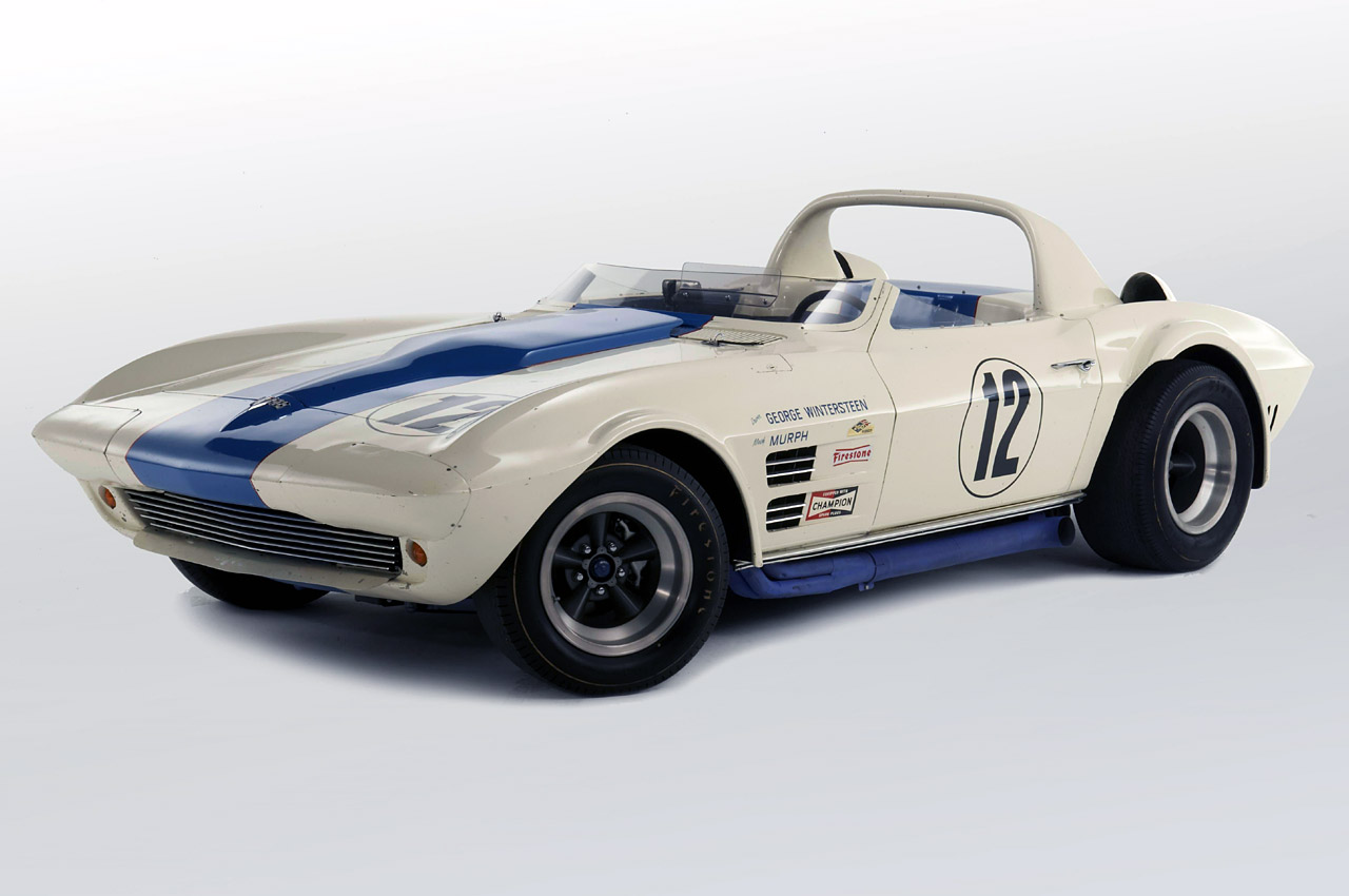 special car auto cars vehicles rare 1963 corvette grand sport to be auctioned in january. Black Bedroom Furniture Sets. Home Design Ideas