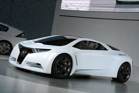 La 2008 Honda Surprises With Fc Sport Fuel Cell Sports Car Concept