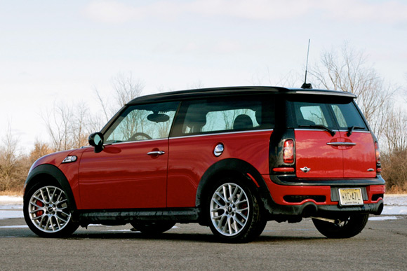 Review 2009 Mini Clubman John Cooper Works Autoblog