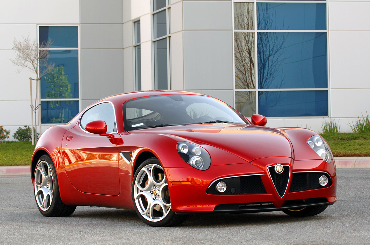 Quick Spin: 2009 Alfa Romeo 8C Competizione Photo Gallery