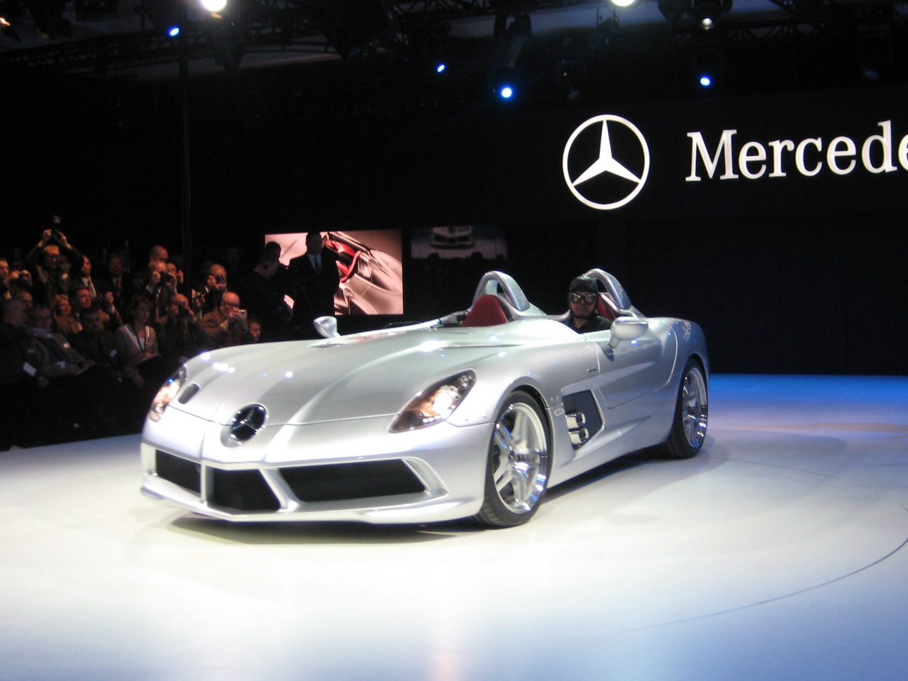Jeep Certified Pre-Owned >> Detroit 2009: Mercedes Benz SLR Stirling Moss Photo ...