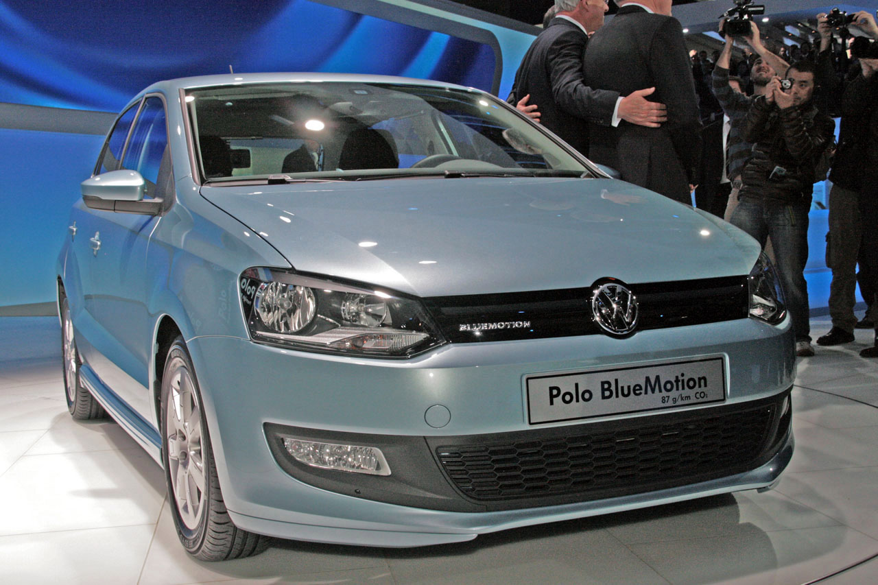 volkswagen polo bluemotion concept foto ufficiali. Black Bedroom Furniture Sets. Home Design Ideas