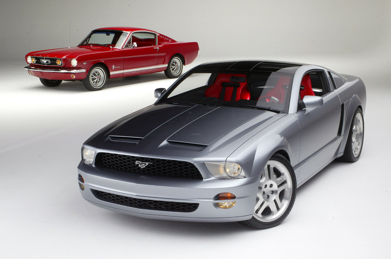 2003 ford mustang gt and convertible concept photo gallery autoblog
