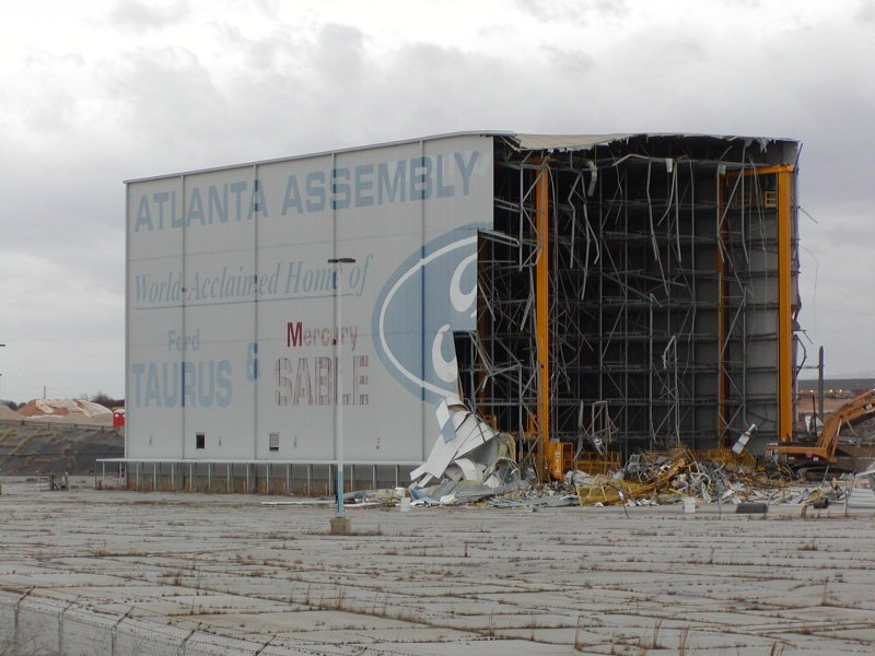 Hyundai Certified Pre Owned >> Demolition of Ford Atlanta Assembly plant Photo Gallery ...