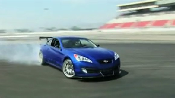 video 0 60 gets a hyundai genesis coupe to tune and track. Black Bedroom Furniture Sets. Home Design Ideas