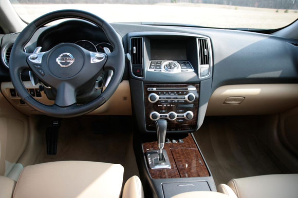 2009 nissan maxima reviews