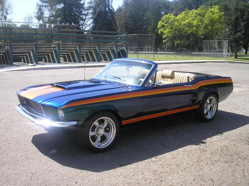Ebay find of the day custom 1967 ford mustang hardtop convertible photo gallery autoblog