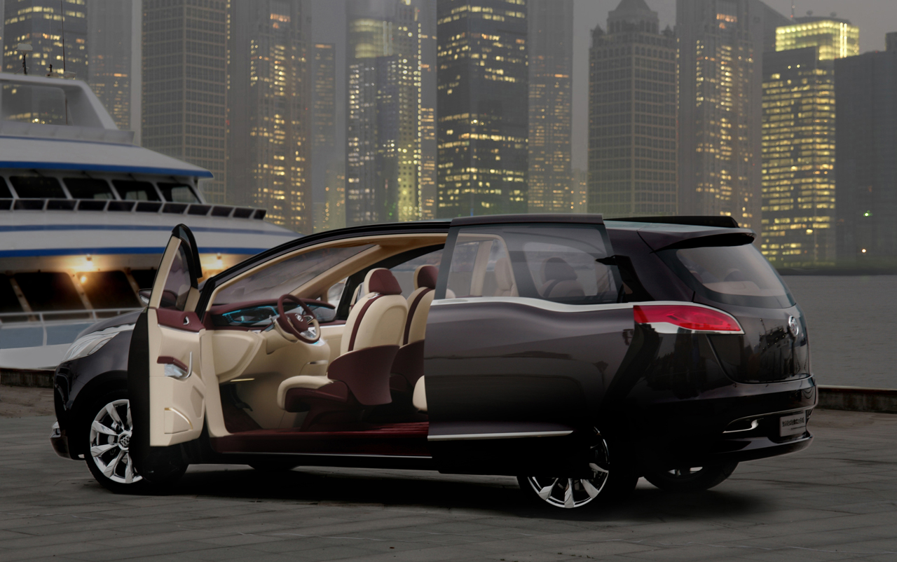 Jeep Certified Pre-Owned >> Shanghai 2009: Buick Business MPV Photo Gallery - Autoblog
