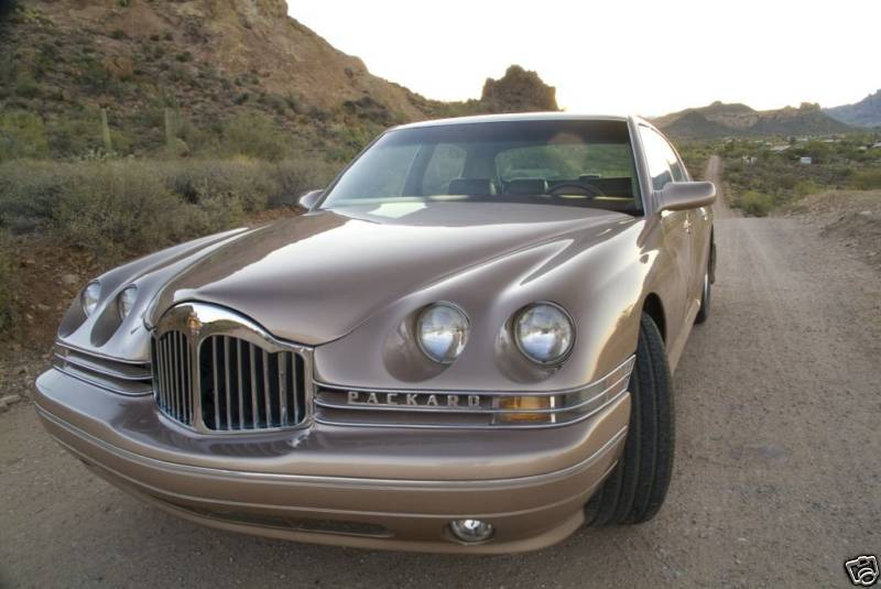 Infiniti Certified Pre Owned >> 1999 Packard Twelve concept on eBay Photo Gallery - Autoblog