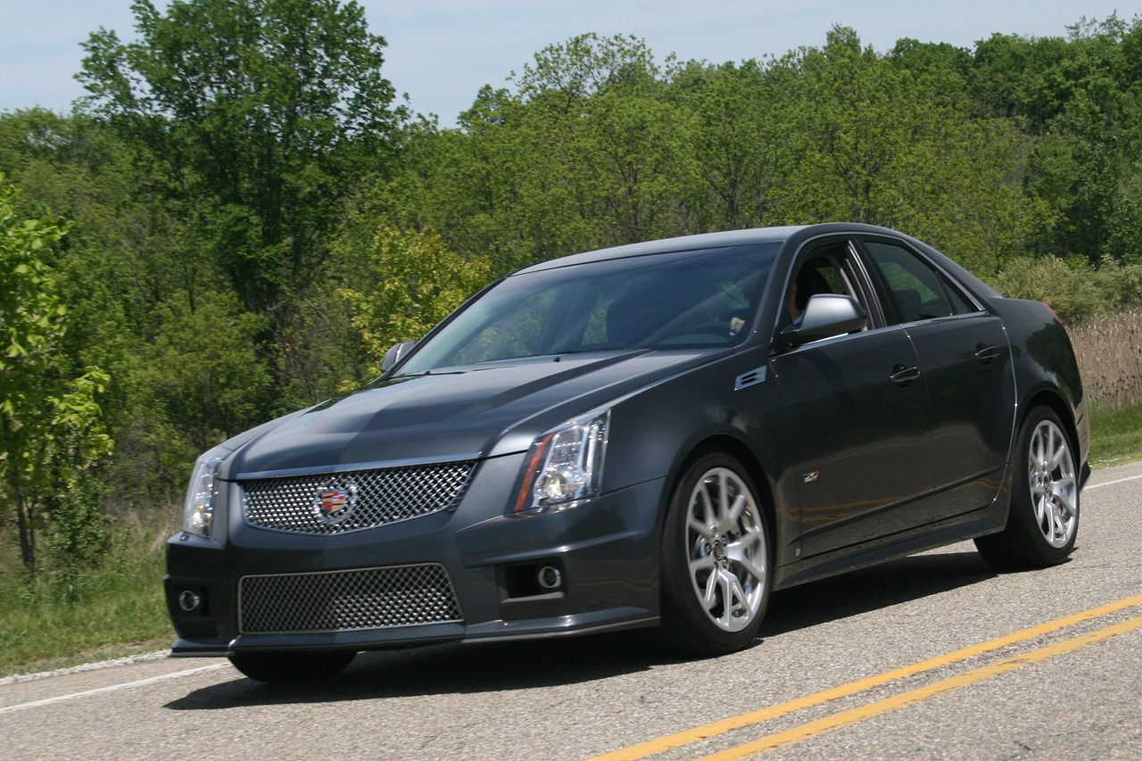 Review 2009 Cadillac Cts V Photo Gallery Autoblog