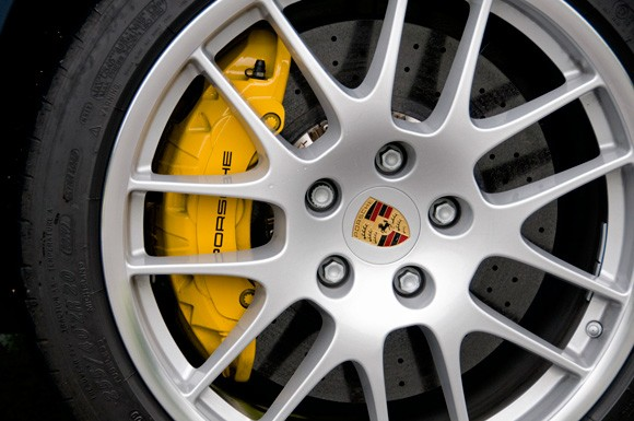 According To Porsche The Standard Brakes On Turbo Deliver 1 700 Horse Of Braking Force And Are Identified By Their Red Calipers