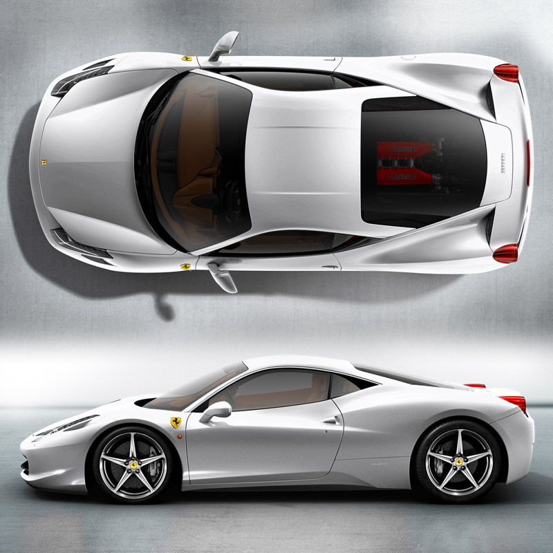 Ferrari 458 Italia Colors Photo Gallery