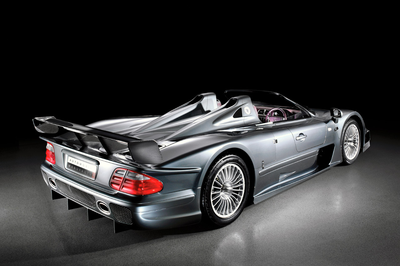 Mercedes Benz Clk Gtr >> Modification Of Automotive Technology Pair Of Mercedes Benz