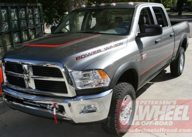 2010 Dodge Ram Power Wagon Caught Uncovered