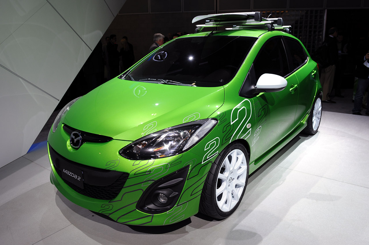 LA 2009: Custom Mazda2 Concepts Photo Gallery - Autoblog
