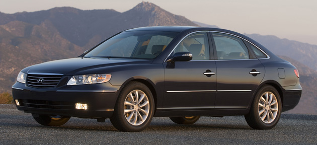 hyundai recalls 65 000 2006 2009 azera sedans over. Black Bedroom Furniture Sets. Home Design Ideas