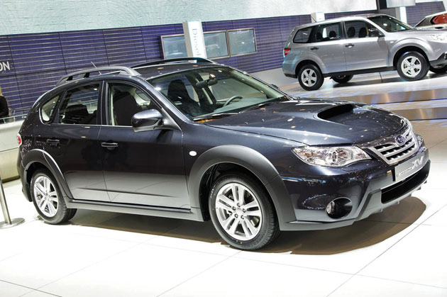 Geneva Preview Subaru Impreza Xv Model To Get Rugged New Look Subaru Forester Owners Forum