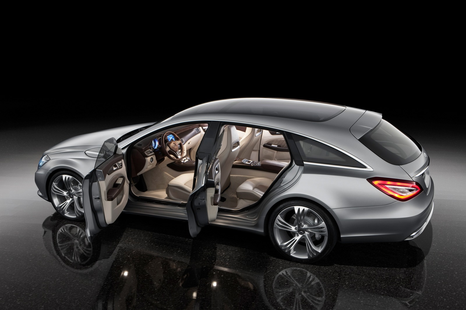 mercedes cls shooting brake concept. Black Bedroom Furniture Sets. Home Design Ideas