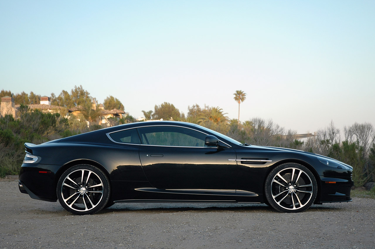 AutoBlog Review: 2010 Aston Martin DBS Carbon Black