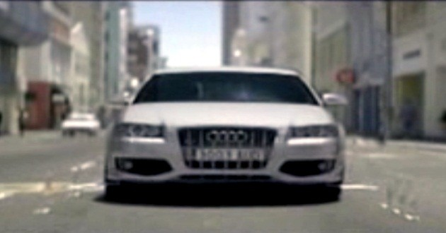 Funny Car Commercials: Funny Car Commercial Of The Day: Audi's Musically Gifted S3