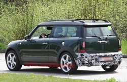 Spy Shots Minor Facelift For 2011 Mini Cooper And Clubman Spotted
