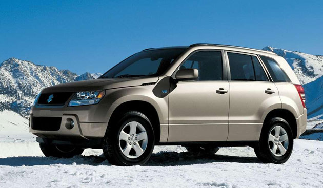 suzuki recalls over 46 000 xl 7 and grand vitara suvs due to faulty pulleys. Black Bedroom Furniture Sets. Home Design Ideas