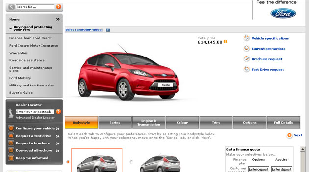 Online Auto Sales >> Ford Begins Online Car Sales In The Uk 40 Of Buyers Approve Ford