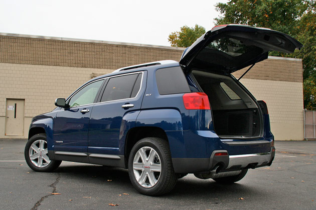 As A Grocery Getter The Gmc Terrain Is Basically Good Anything Else In This Cl Practically Speaking There S Plenty Of Room For Your Stuff
