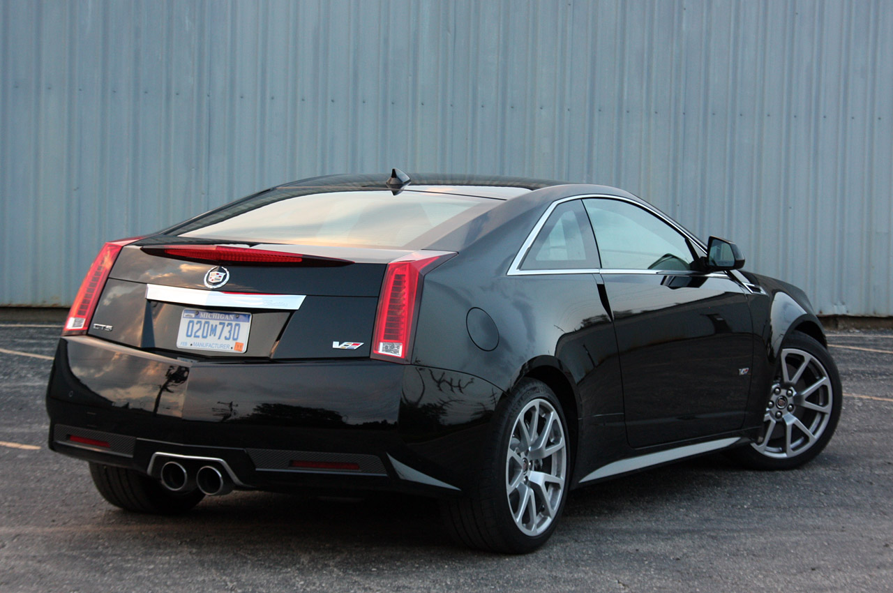First Drive 2011 Cadillac Cts V Coupe Photo Gallery Autoblog