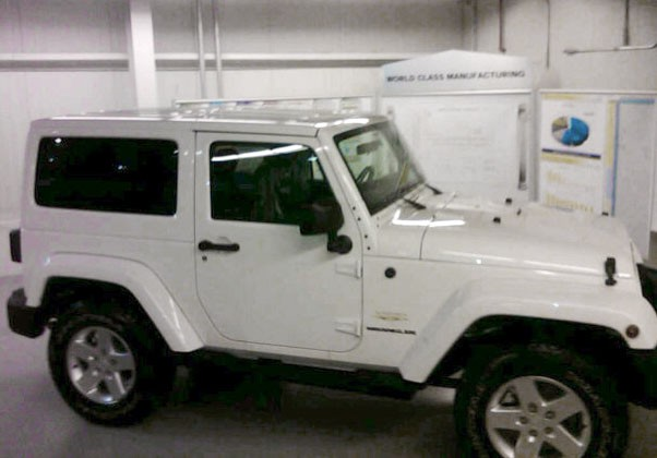 Spy Shots 2011 Jeep Wrangler To Get Color Matched Hardtop