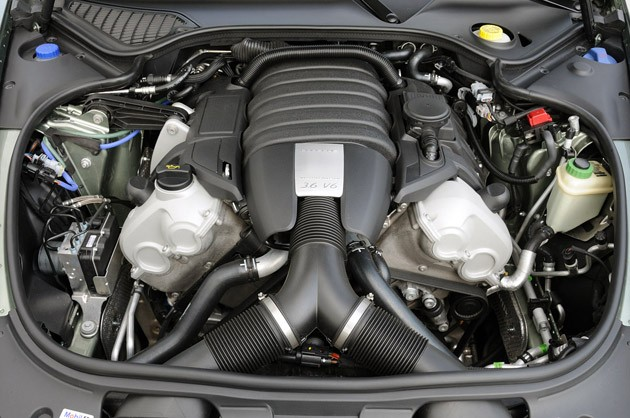 First Drive 2011 Porsche Panamera Conceals A V6 But Gives Up Little Else In The Transplant Autoblog