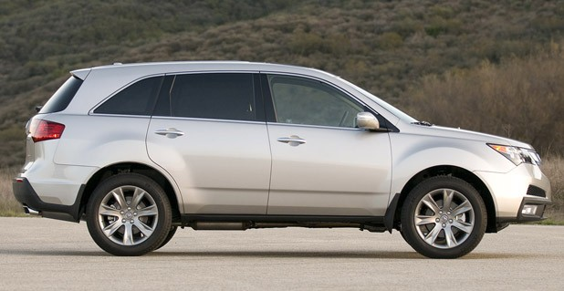 The Second Generation Acura Mdx Debuted For 2007 Model Year Completely Redesigned And Larger In Every Dimension Than Its Predecessor