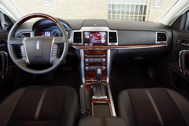 first drive 2011 lincoln mkz hybrid autoblog Lincoln Town Car but where the dash falls short, the standard leather seating surfaces absolutely shine the hides are from some far flung corner of scotland where the