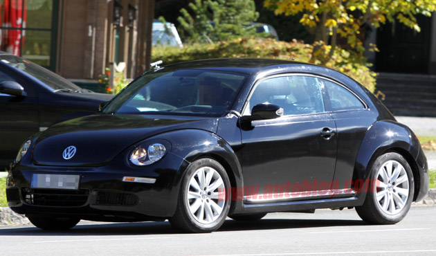 spy shots first photos of 2012 volkswagen new beetle vw tdi forum audi porsche and chevy. Black Bedroom Furniture Sets. Home Design Ideas