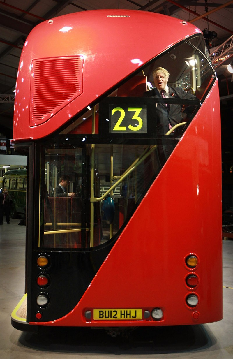 Used Certified Cars >> London's New Double-Decker Bus Photo Gallery - Autoblog