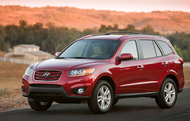 big cars and motorcycles p ctures 2011 hyundai santa fe stung by same faulty caliper recall as. Black Bedroom Furniture Sets. Home Design Ideas