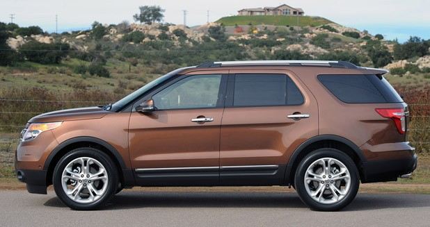 2017 Ford Explorer Side View