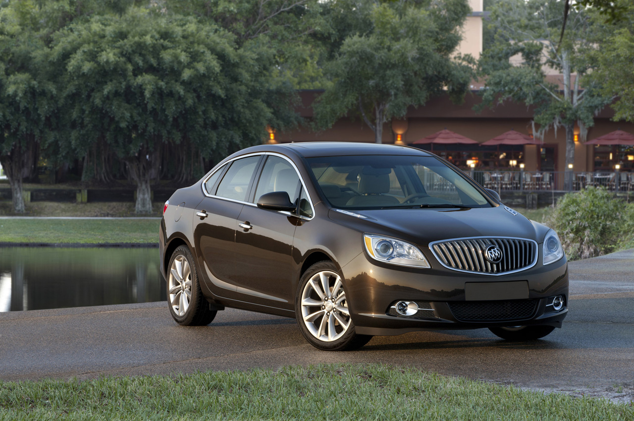 Buick Verano Turbo Launching Fall 2012