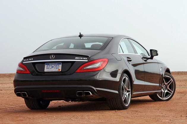 first drive 2012 mercedes benz cls63 amg autoblog. Black Bedroom Furniture Sets. Home Design Ideas