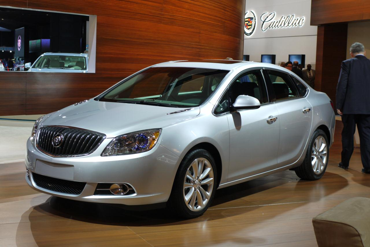 2012 Buick Verano gets a starting price of $23,470 - Autoblog