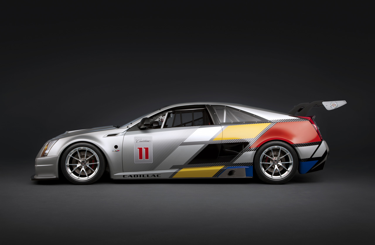 2011 cadillac cts v coupe scca race car photo gallery autoblog. Black Bedroom Furniture Sets. Home Design Ideas