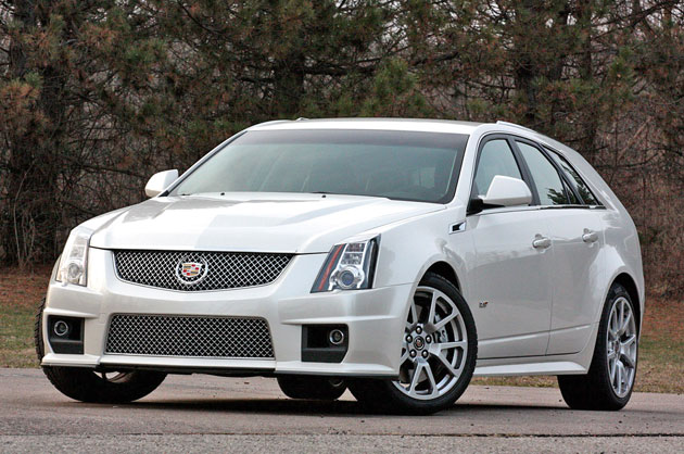 review 2011 cadillac cts v sport wagon. Black Bedroom Furniture Sets. Home Design Ideas