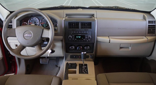 2010 Jeep Liberty Sport Interior