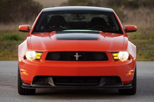 2012 Ford Mustang Boss 302 front view