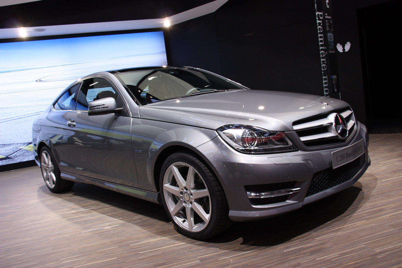2012 mercedes benz c class coupe geneva 2011 photo. Black Bedroom Furniture Sets. Home Design Ideas