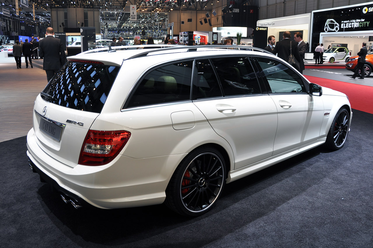 2012 mercedes benz c63 amg estate geneva 2011 photo gallery autoblog. Black Bedroom Furniture Sets. Home Design Ideas