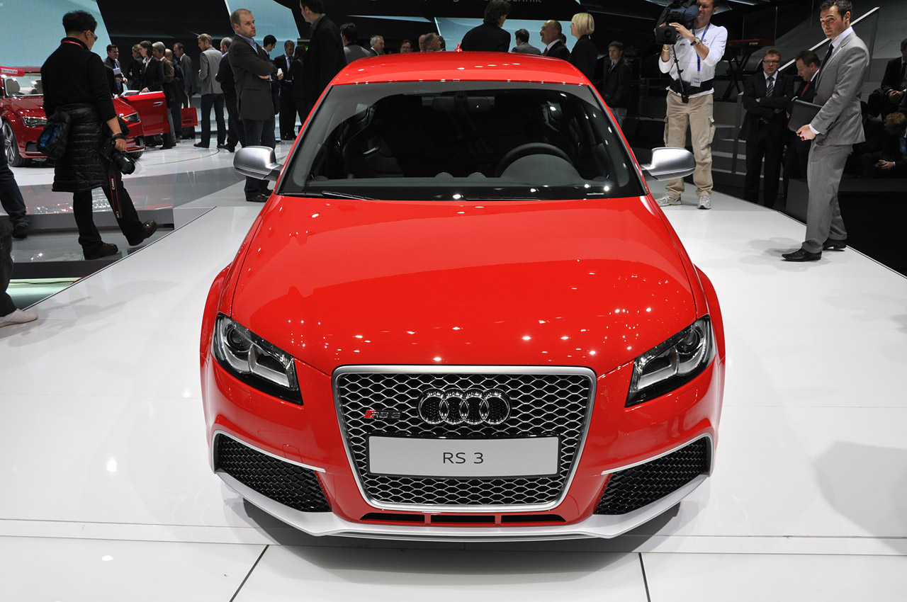 2012 audi rs3 sportback geneva 2011 photo gallery autoblog. Black Bedroom Furniture Sets. Home Design Ideas